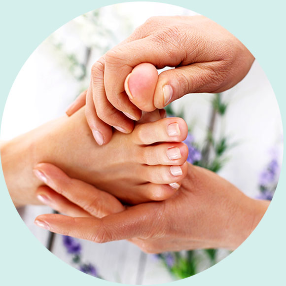 Reflexology treatment available by Lois Rix